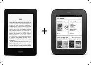 Amazon Kindle Paperwhite+NOOK Simple Touch