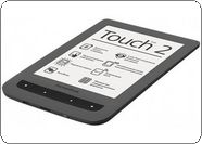 Электронная книга PocketBook 626 Touch Lux2, серый